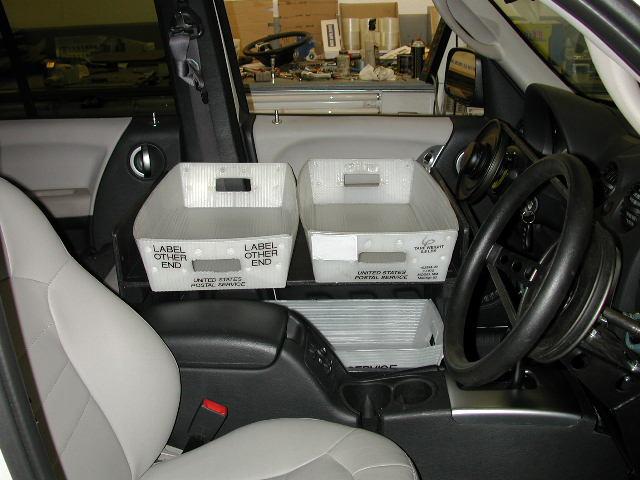 Postal Jeep Mail Tray